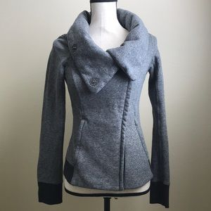 Price firm! Authentic Lululemon Funnel Neck Jacket